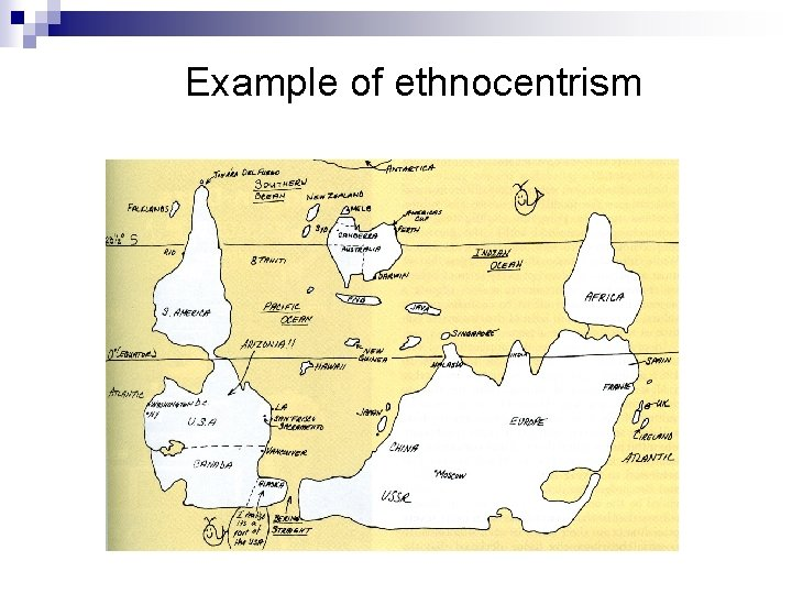 Example of ethnocentrism