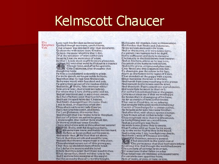 Kelmscott Chaucer