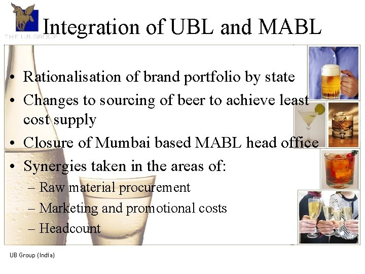 The UB Group. An introduction Integration of UBL and MABL The UB Group, is