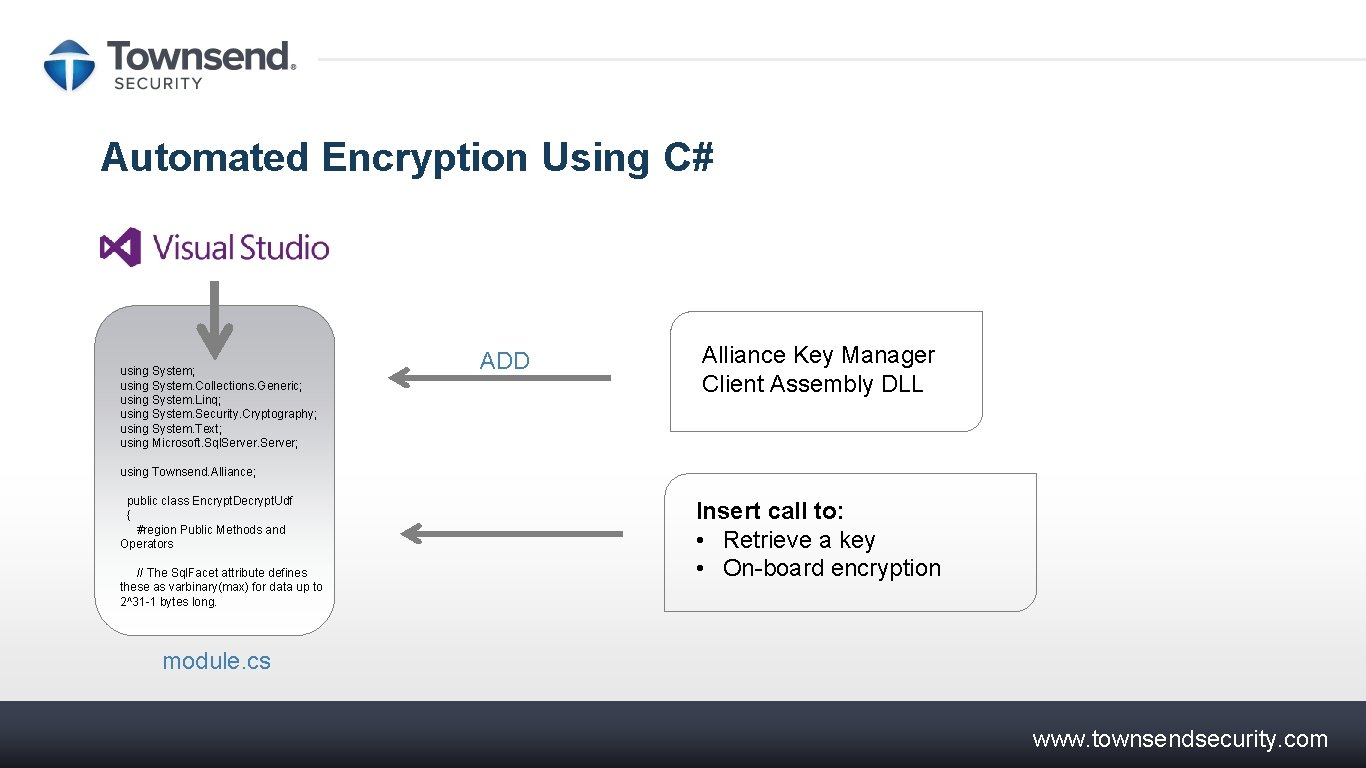 System.Security.Cryptography C # -Miste