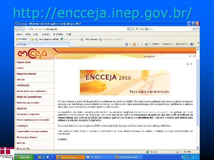 Inep Instituto Nacional De Estudos E Pesquisas Educacionais
