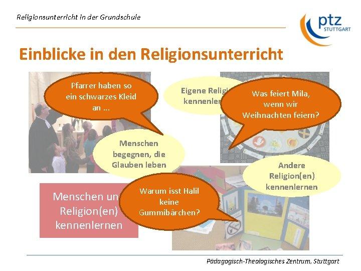 religionsunterricht kennenlernen