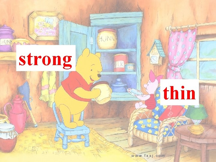 strong thin