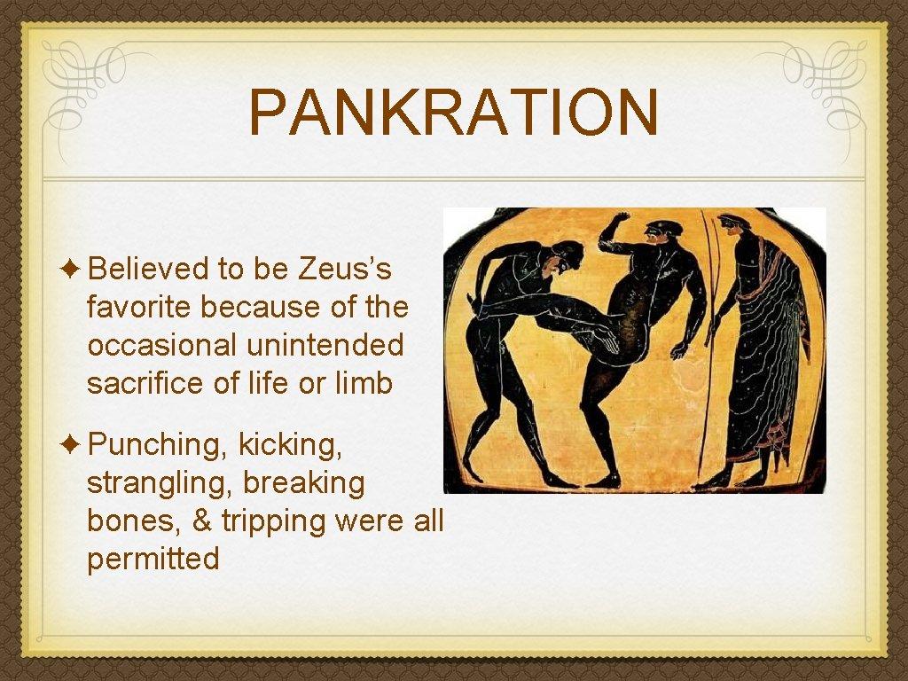 Pankration