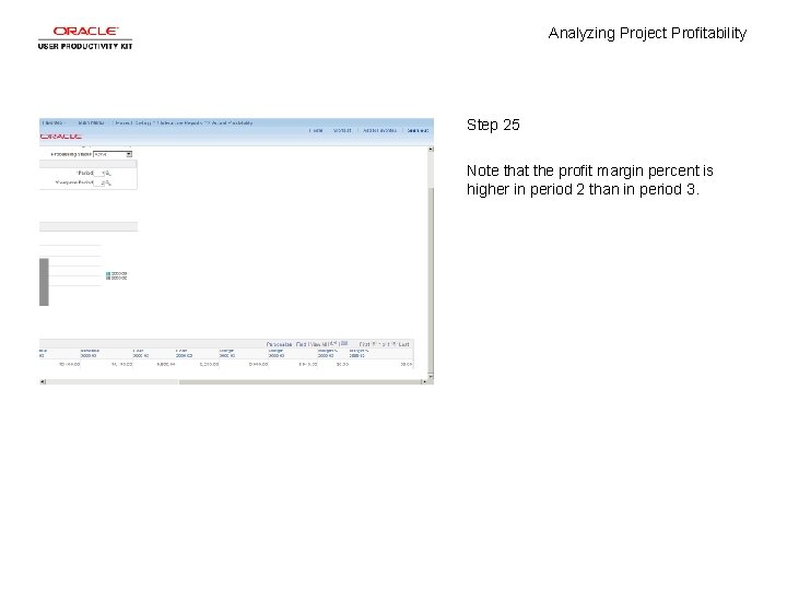 Analyzing Project Profitability Step 25 Note that the profit margin percent is higher in