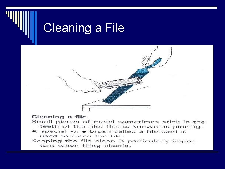 Cleaning a File