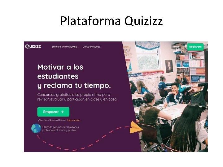 Plataforma Quizizz