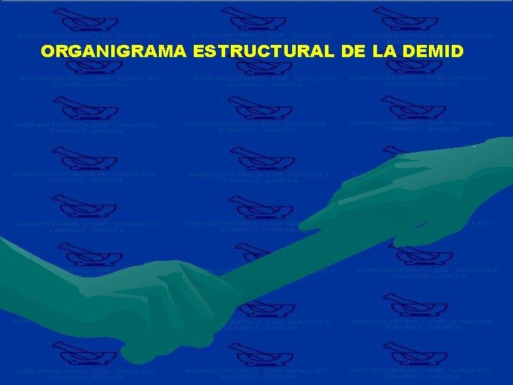 ORGANIGRAMA ESTRUCTURAL DE LA DEMID
