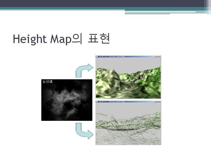 Height Map의 표현
