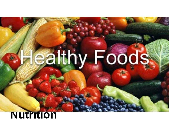Excellent Nutrition