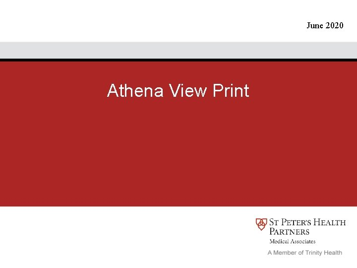 June 2020 Athena View Print