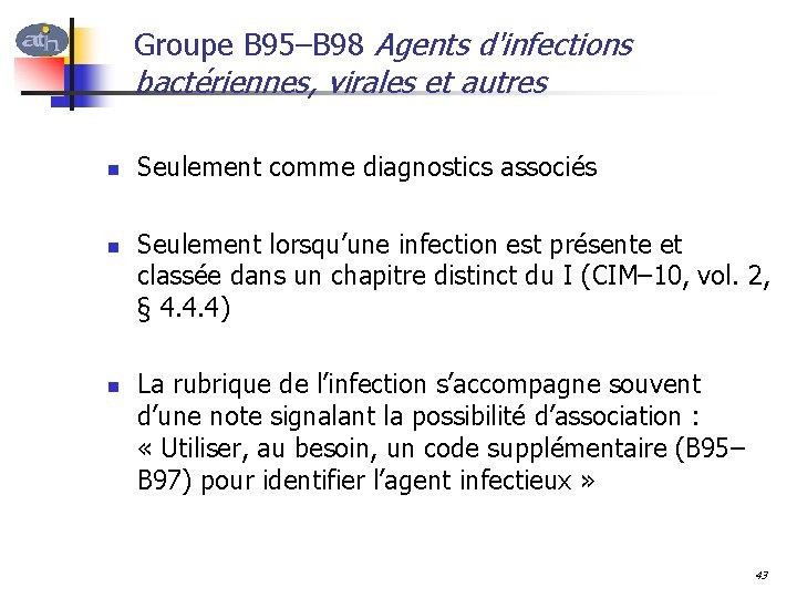 toxine botulique cim 10
