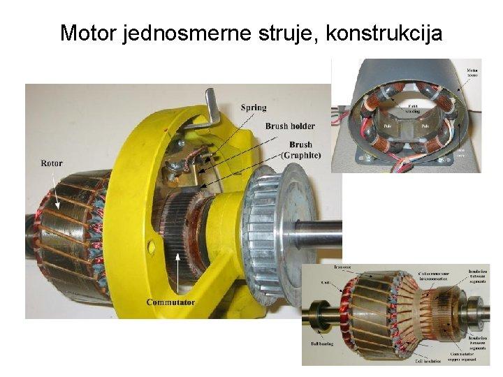 Motor jednosmerne struje, konstrukcija 15