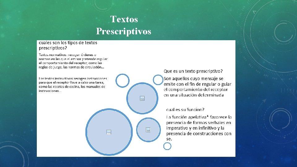Textos Prescriptivos