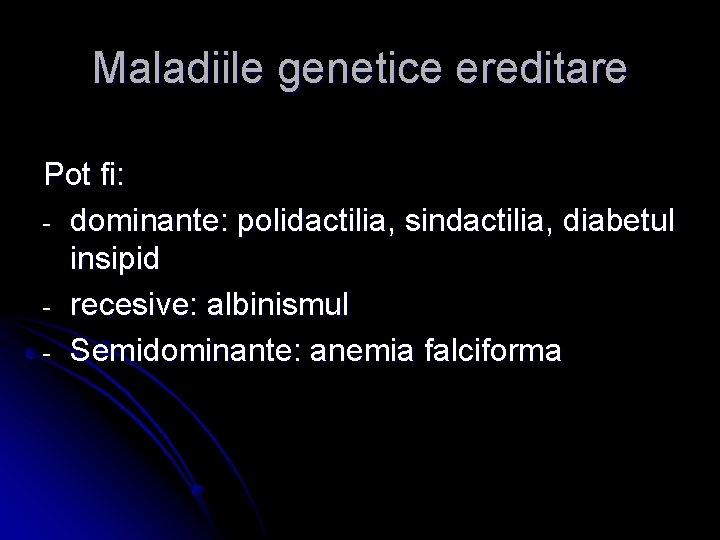 mutația genetică a vederii