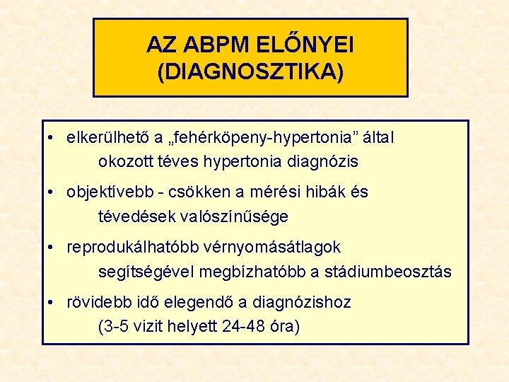 hipertónia jelent se