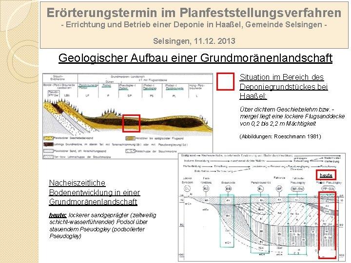 Erörterungstermin im Planfeststellungsverfahren - Errichtung und Betrieb einer Deponie in Haaßel, Gemeinde Selsingen, 11.