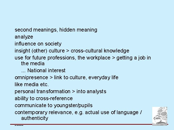 second meanings, hidden meaning analyze influence on society insight (other) culture > cross-cultural knowledge