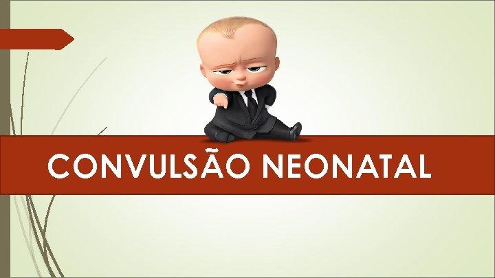 CONVULSÃO NEONATAL