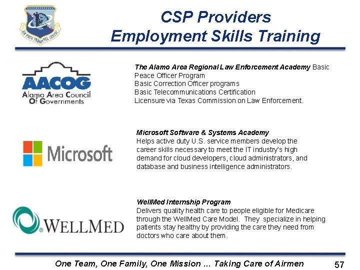CSP Providers Employment Skills Training The Alamo Area Regional Law Enforcement Academy Basic Peace