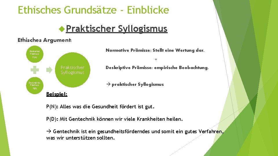 Syllogismus
