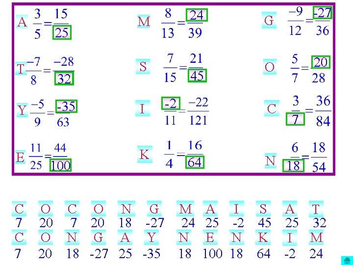 A T Y E C 7 25 32 -35 100 O C O 20