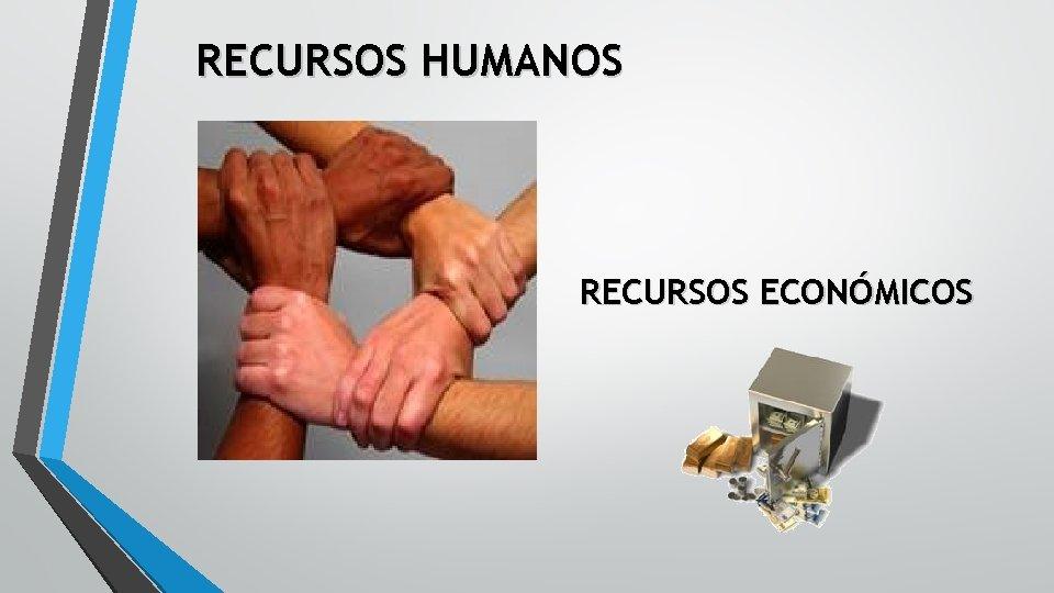 RECURSOS HUMANOS RECURSOS ECONÓMICOS