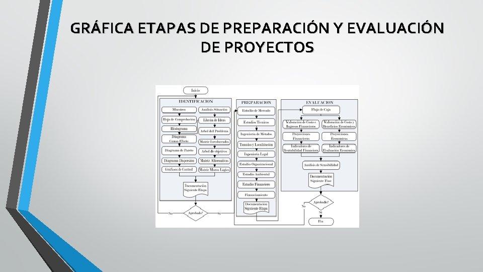 GRÁFICA ETAPAS DE PREPARACIÓN Y EVALUACIÓN DE PROYECTOS