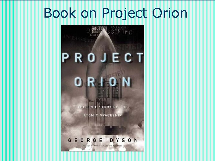 Book on Project Orion