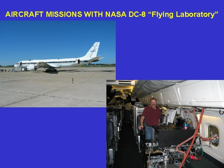 "AIRCRAFT MISSIONS WITH NASA DC-8 ""Flying Laboratory"""