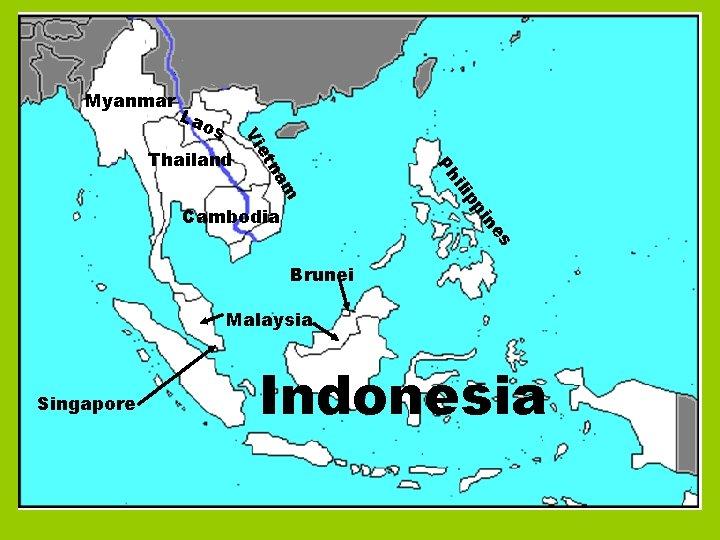 Myanmar La pp ili es in Cambodia Ph m na et Thailand Vi os