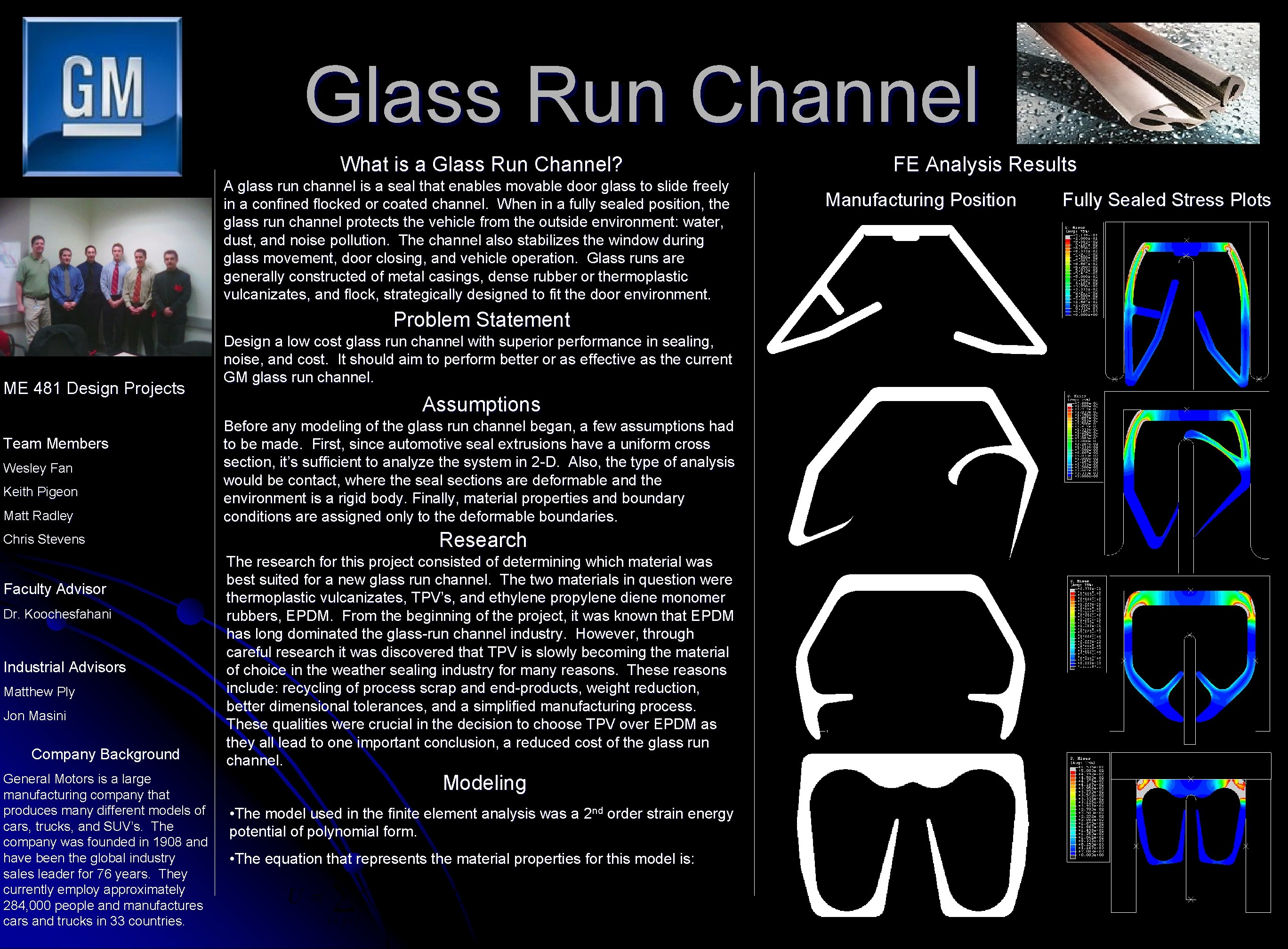 Glass Run Channel What is a Glass Run Channel? A glass run channel is
