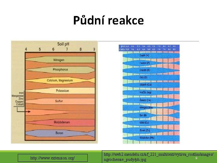 Půdní reakce http: //www. extension. org/ http: //web 2. mendelu. cz/af_221_multitext/vyziva_rostlin/images/ 9 agrochemie_pudy/ph. jpg