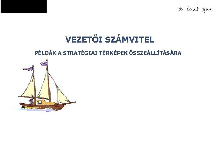 © VEZETŐI SZÁMVITEL PÉLDÁK A STRATÉGIAI TÉRKÉPEK ÖSSZEÁLLÍTÁSÁRA