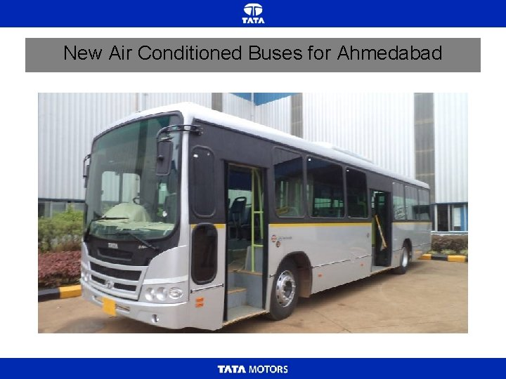 New Air Conditioned Buses for Ahmedabad