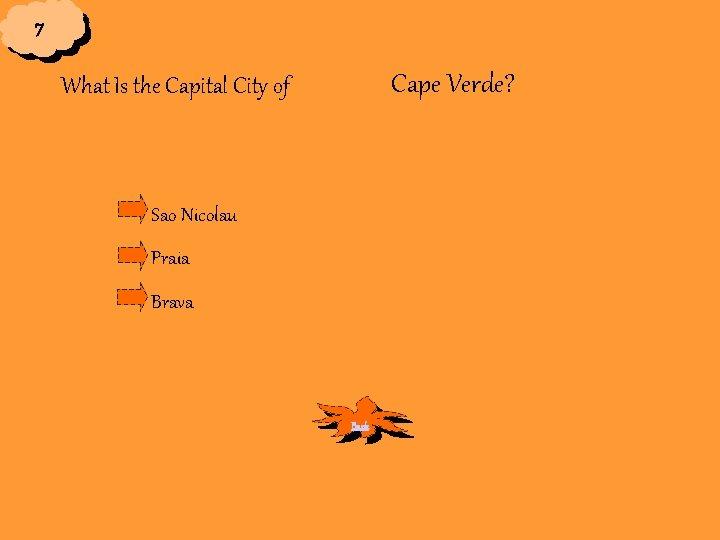 7 Cape Verde? What Is the Capital City of Sao Nicolau Praia Brava Back