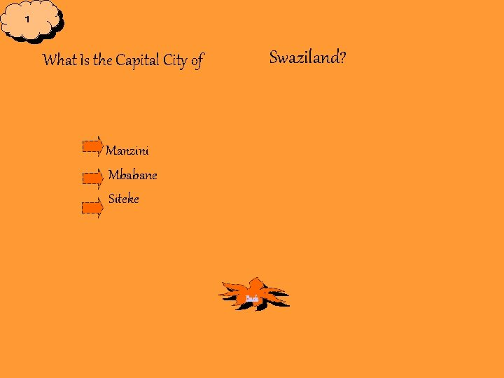 1 Swaziland? What Is the Capital City of Manzini Mbabane Siteke Back