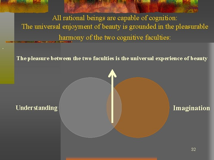 All rational beings are capable of cognition: The universal enjoyment of beauty is grounded