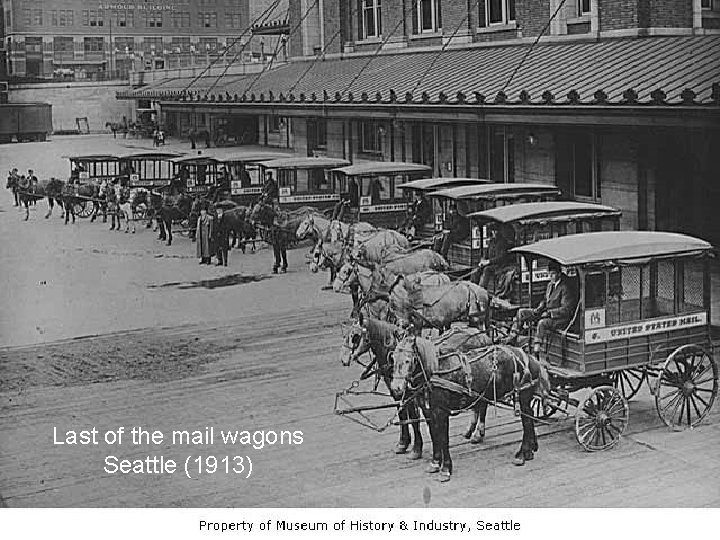 Semester Ganjil Kode MK Last of the mail wagons Seattle (1913) 10