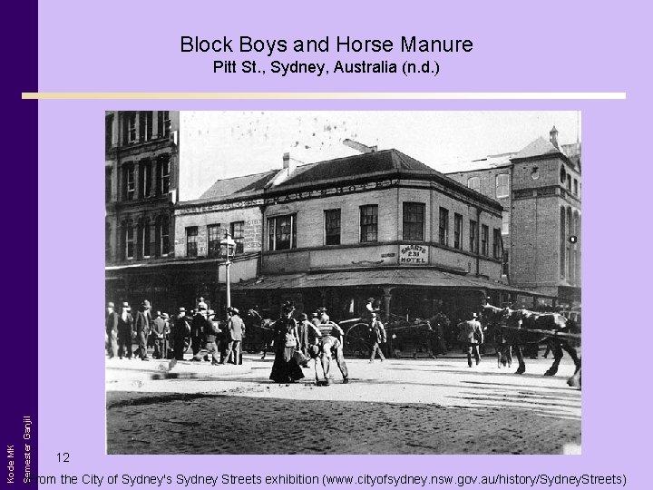 Block Boys and Horse Manure Semester Ganjil Kode MK Pitt St. , Sydney, Australia
