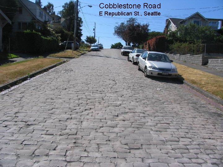 Cobblestone Road Semester Ganjil Kode MK E Republican St. , Seattle 15