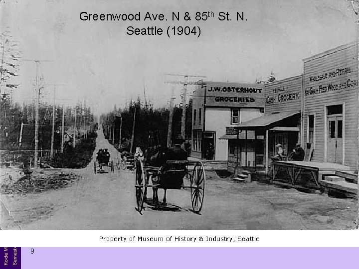 Semester Ganjil Kode MK Greenwood Ave. N & 85 th St. N. Seattle (1904)
