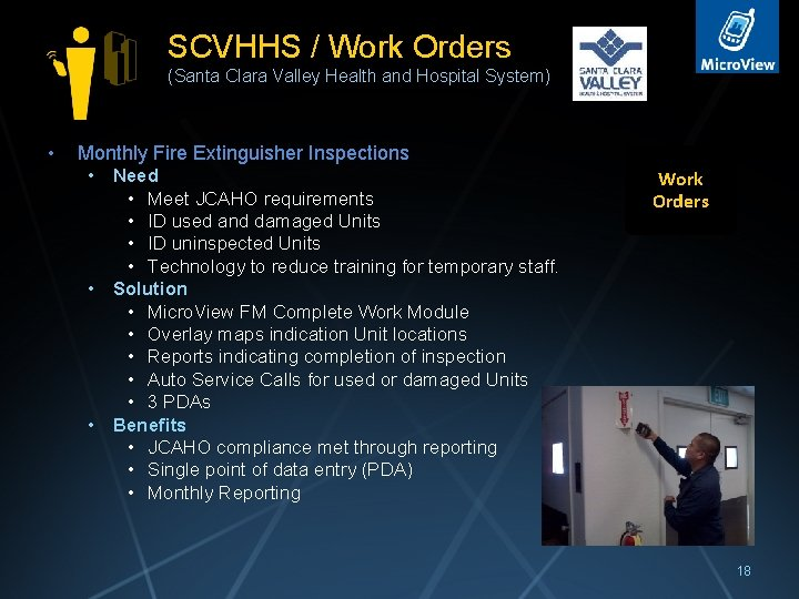 SCVHHS / Work Orders (Santa Clara Valley Health and Hospital System) • Monthly Fire