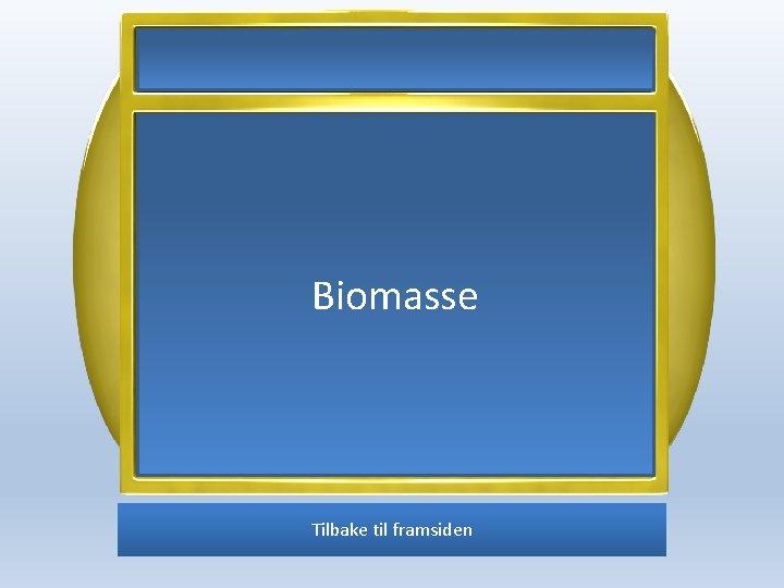Biomasse Tilbake til framsiden