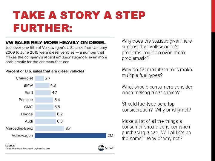 TAKE A STORY A STEP FURTHER: Why does the statistic given here suggest that