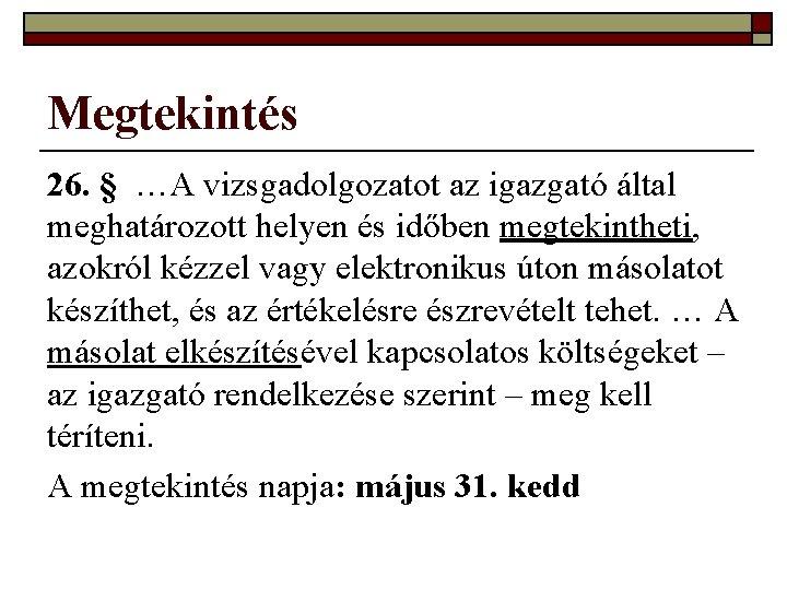 A megtekintés napja, Elsőáldozók lelki napja Vasváron - május 14.