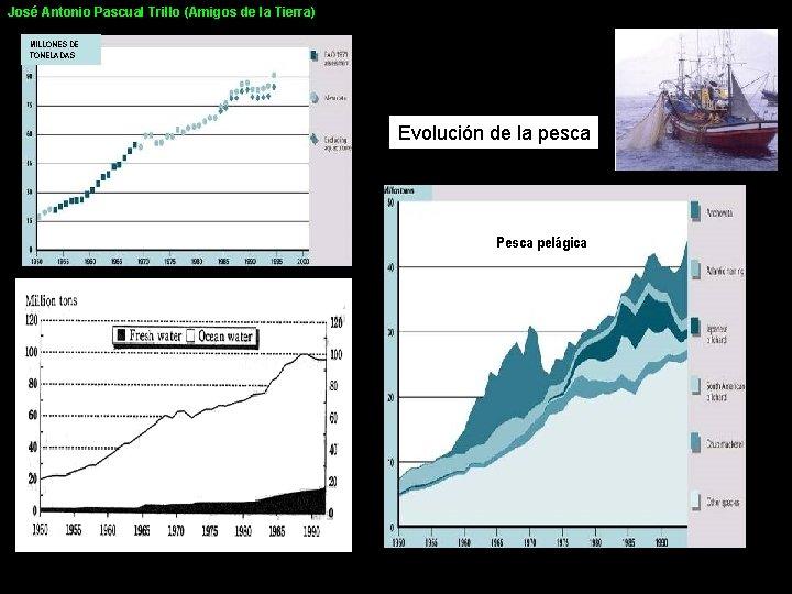 José Antonio Pascual Trillo (Amigos de la Tierra) MILLONES DE TONELADAS Evolución de la