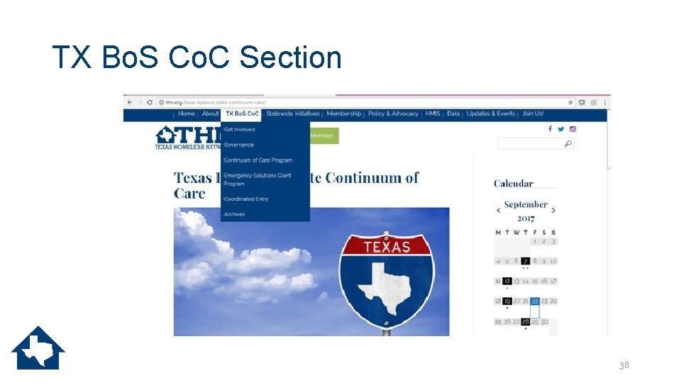 TX Bo. S Co. C Section 38