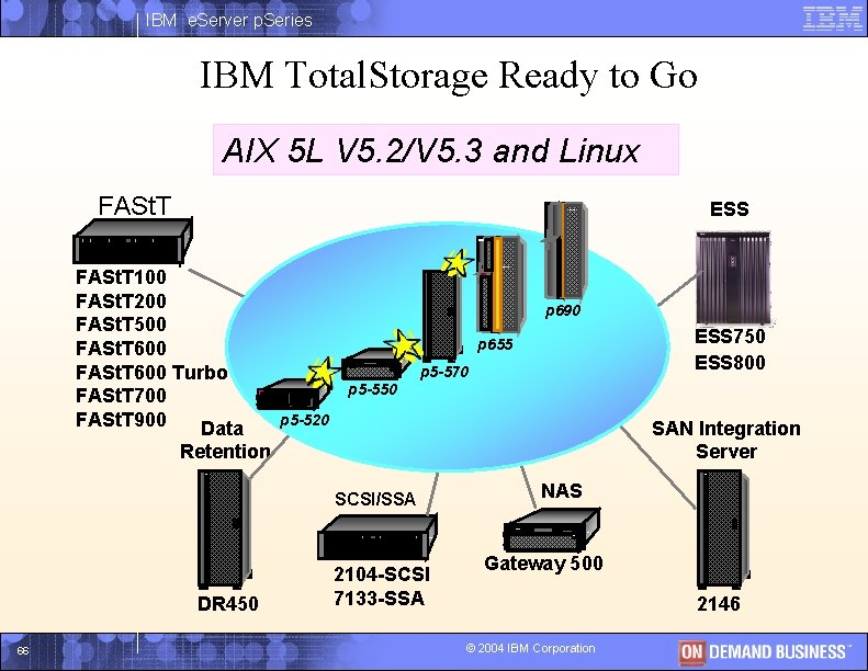 IBM e. Server p. Series IBM Total. Storage Ready to Go AIX 5 L