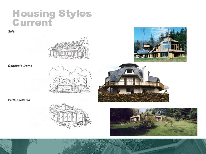 Housing Styles Current